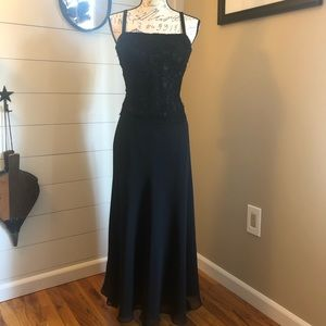 Beautiful Black Gown by JS Boutique
